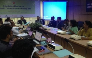 Orientation meeting at DGFP on FWA e-Register and MNH module for FWV