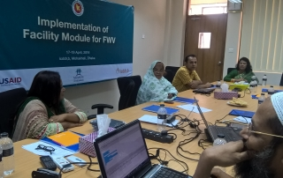 Training for FWV on MNH module