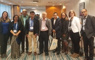 Participants at the hsr2018 after session on eMIS