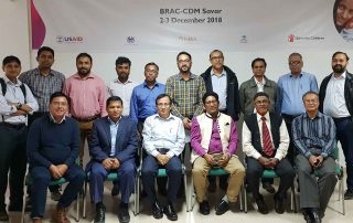Participants at Clinical Content Review Workshop on eMIS facility eRegisters